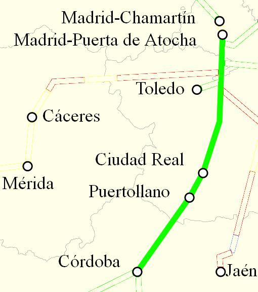 Ave Madrid Córdoba
