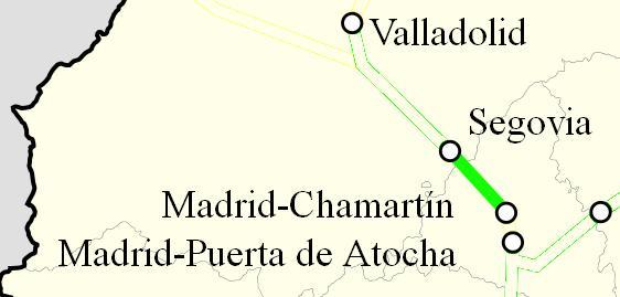 Ave Madrid Segovia
