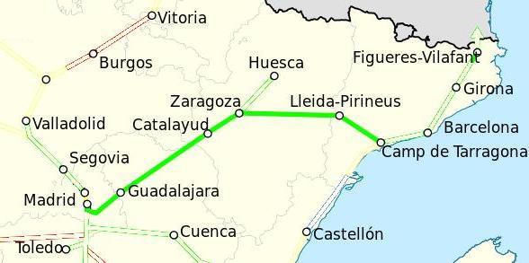 Ave Madrid Tarragona