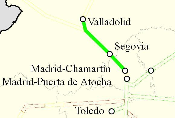 Ave Madrid Valladolid