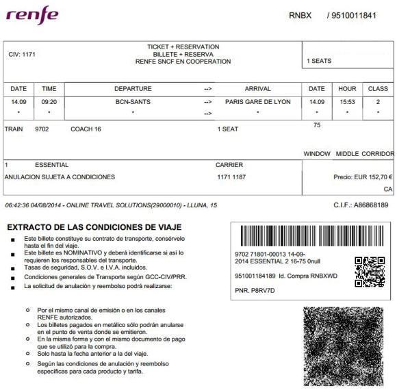 billetes ave barcelona par s m s baratos desde 59