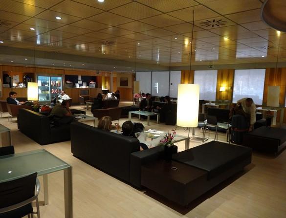 Sala Club del Ave Sevilla Madrid
