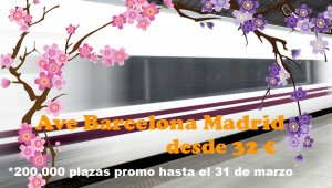 Oferta billetes Ave Barcelona Madrid