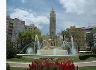 Plaza de los Luceros, Alicante, donde viajar en Ave muy barato