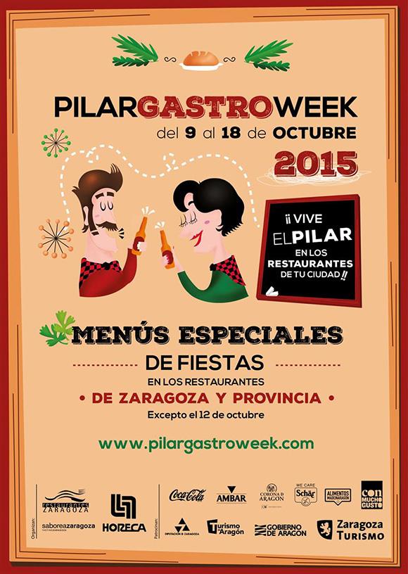 Disfruta de la PilarGastroWeek y las Fiestas del Pilar en Zaragoza
