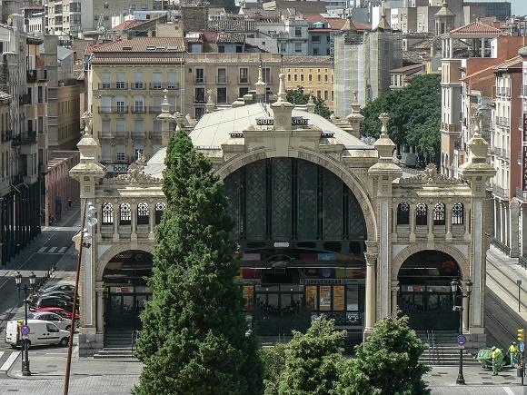 Turismo en Zaragoza: Se renovará el histórico Mercado Central de Zaragoza