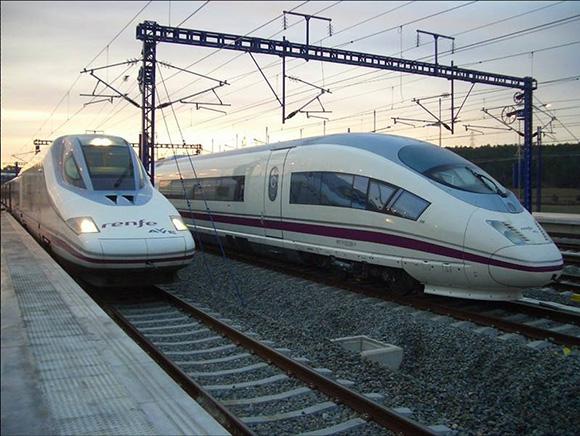 Más de 35 millones de viajeros en los trenes AVE