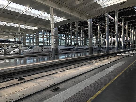 Viajes en trenes AVE para el mes de agosto 2018